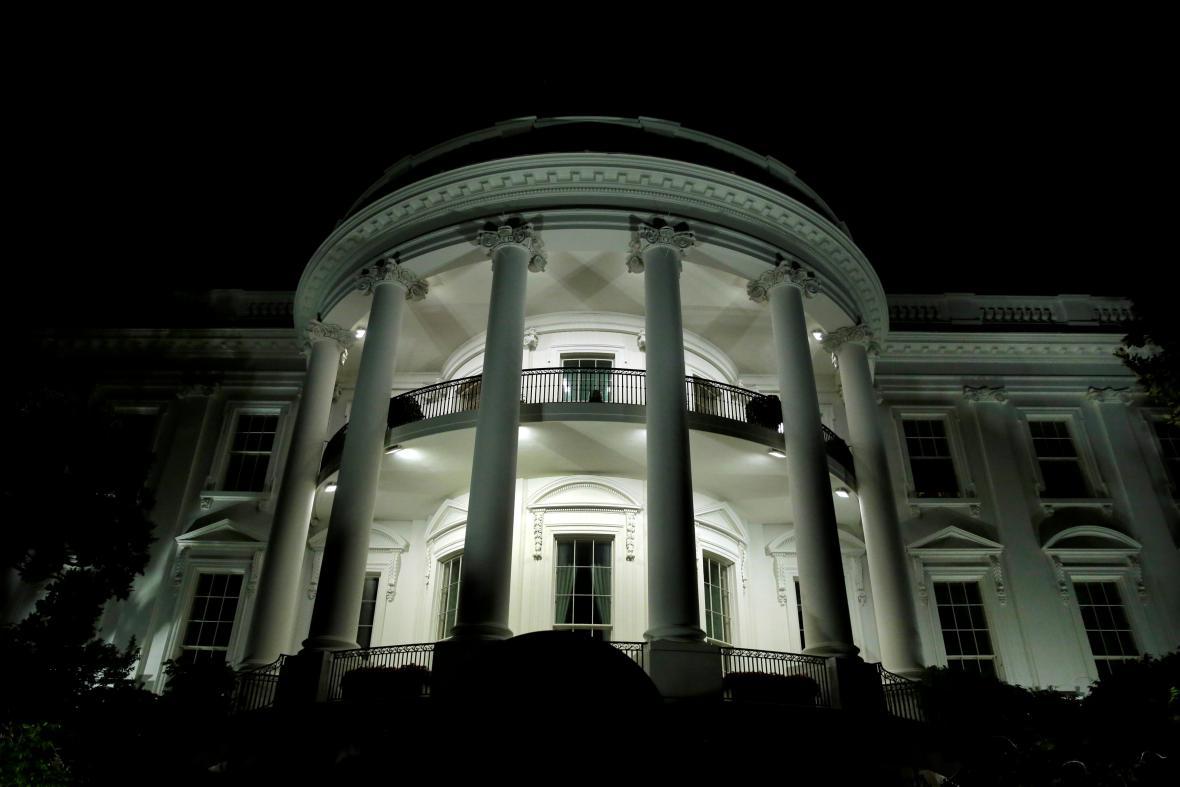 Zadní průčelí Bílého domu