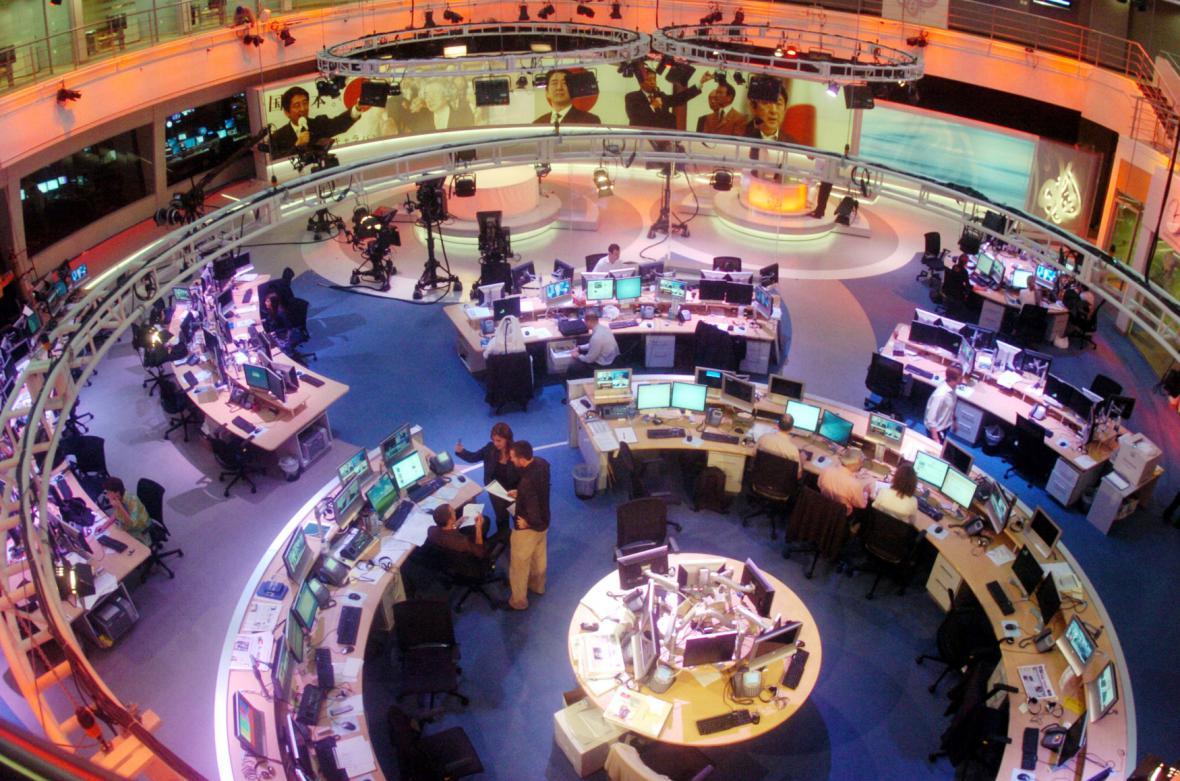 Newsroom Al-Džazíry