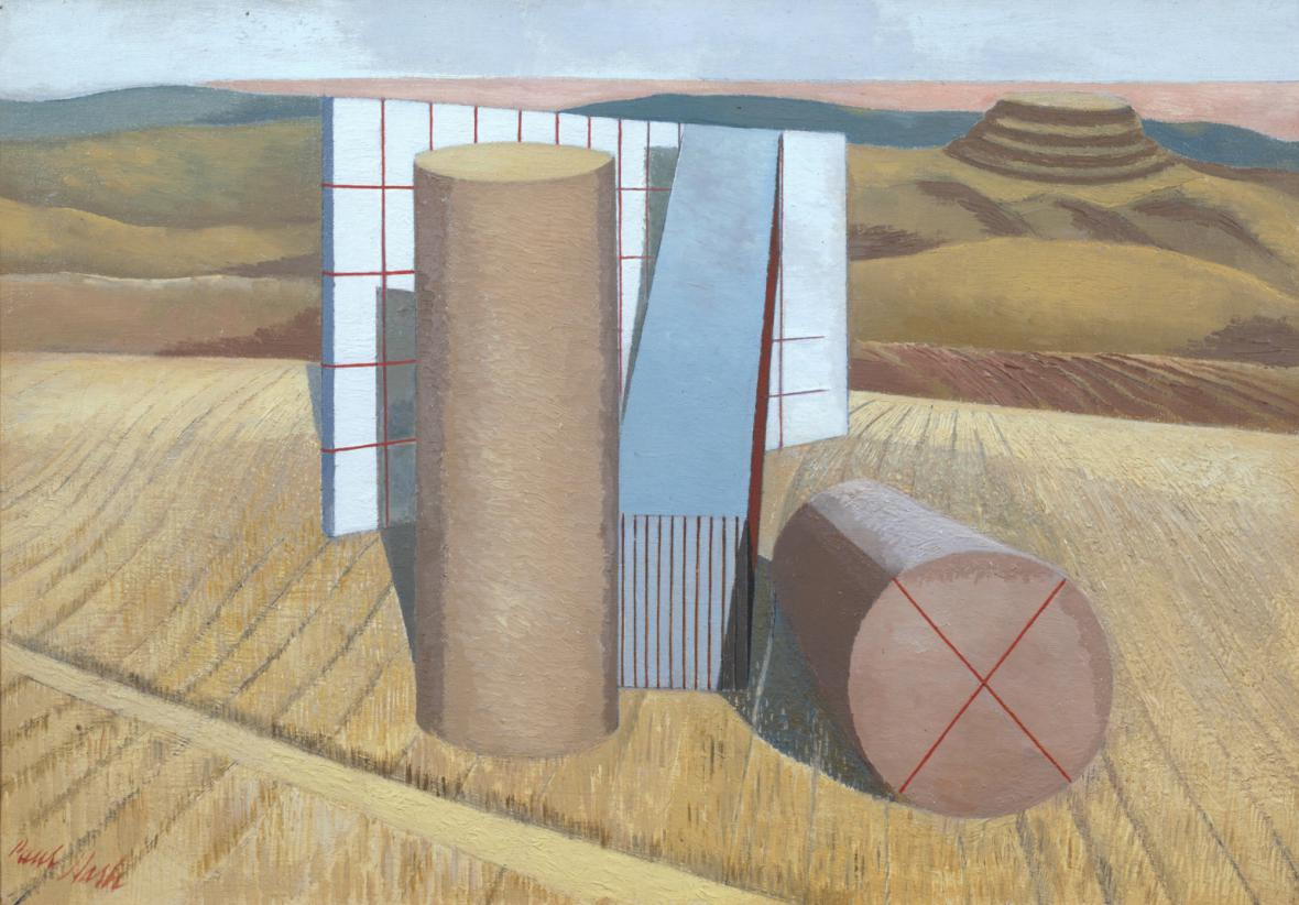 Paul Nash / Equivalents for the Megaliths, 1935