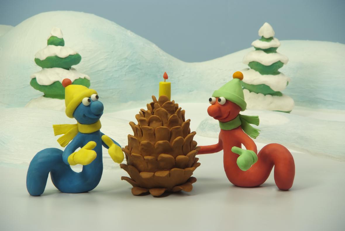 Vánoční díl Žížaláků