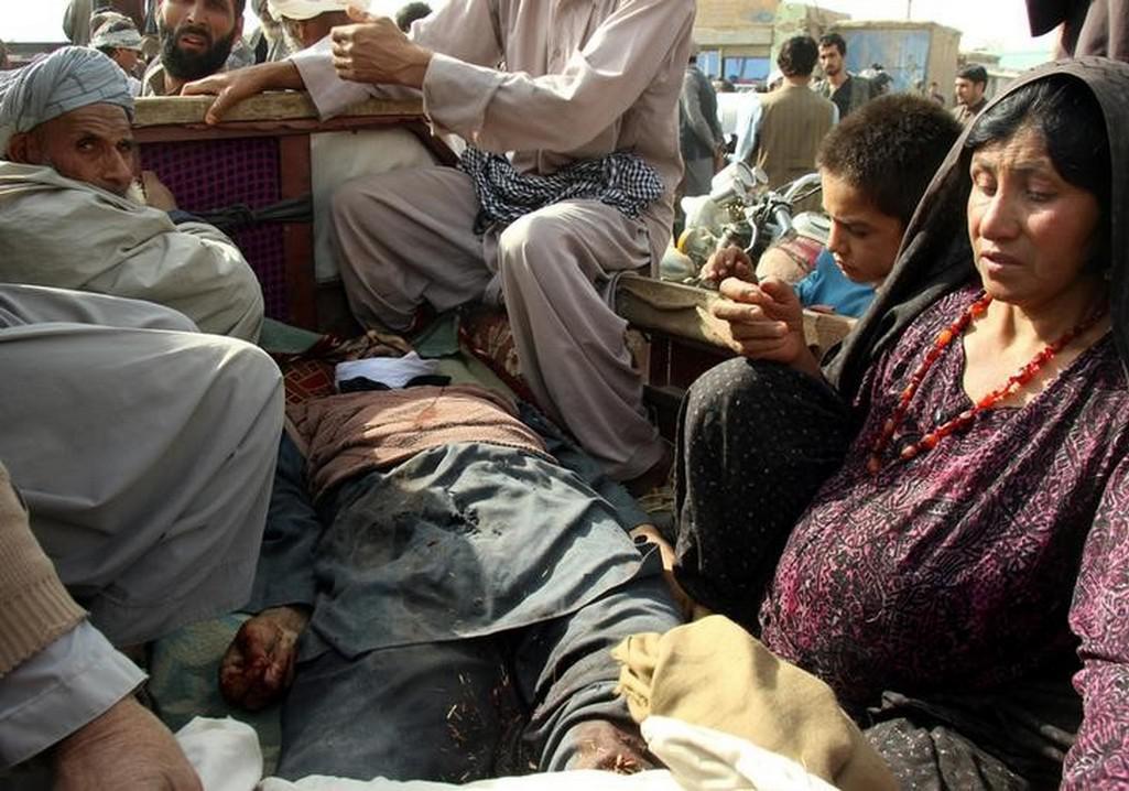 Civilní oběti v Afghánistánu