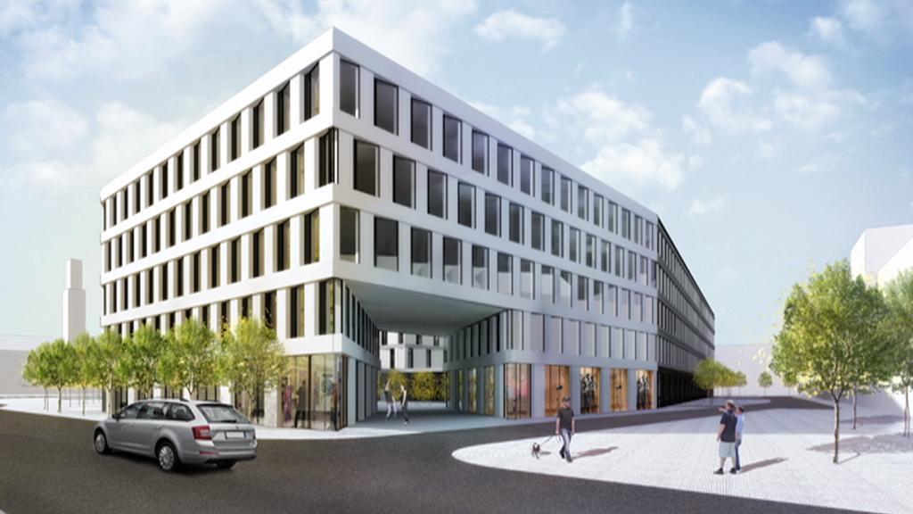 Vizualizace nového hotelu, který nahradí Černigov