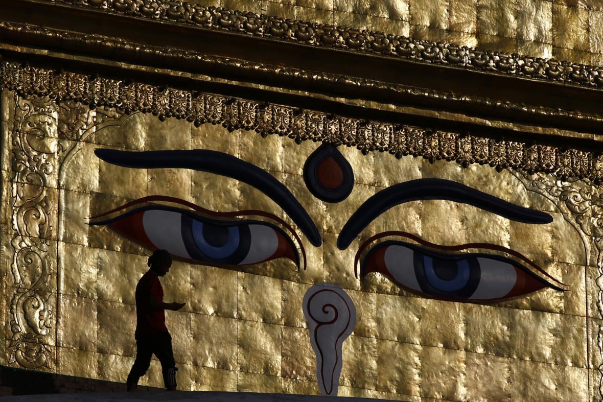 Chrám v Káthmándú