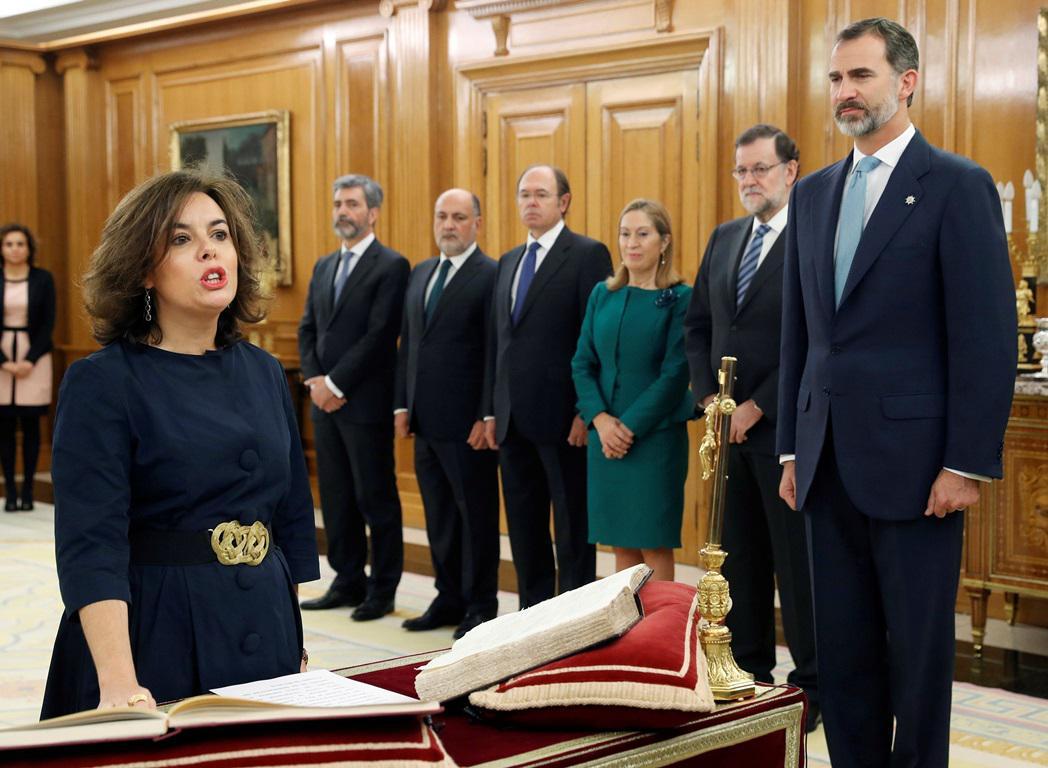 Vicepremiérka Soraya Sáenzová
