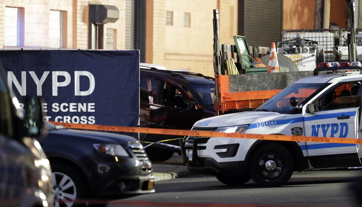 Policejní honička v Bronxu