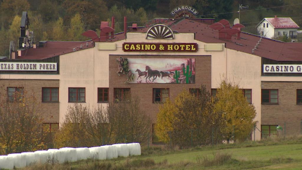 Hotel s kasínem v České Kubici na Domažlicku
