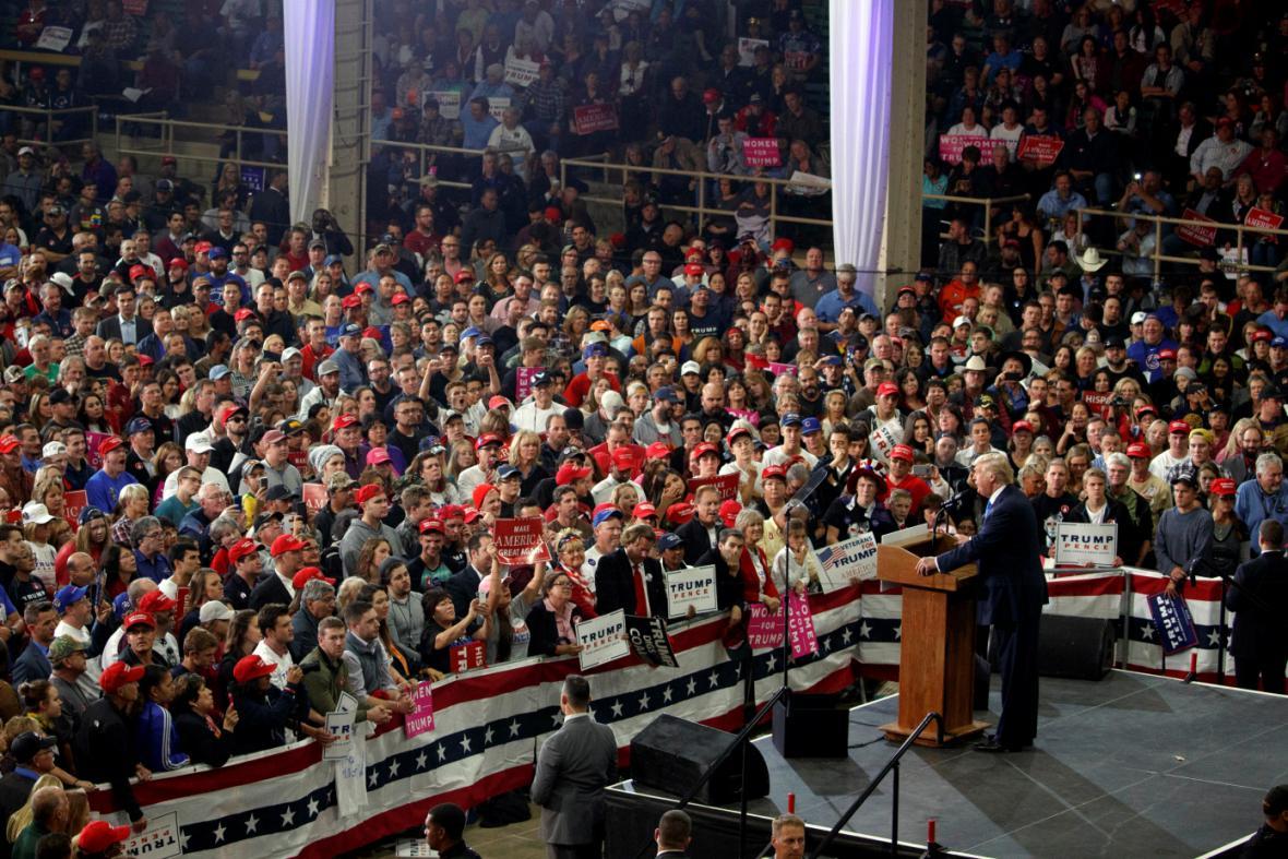 Kampaň Donalda Trumpa