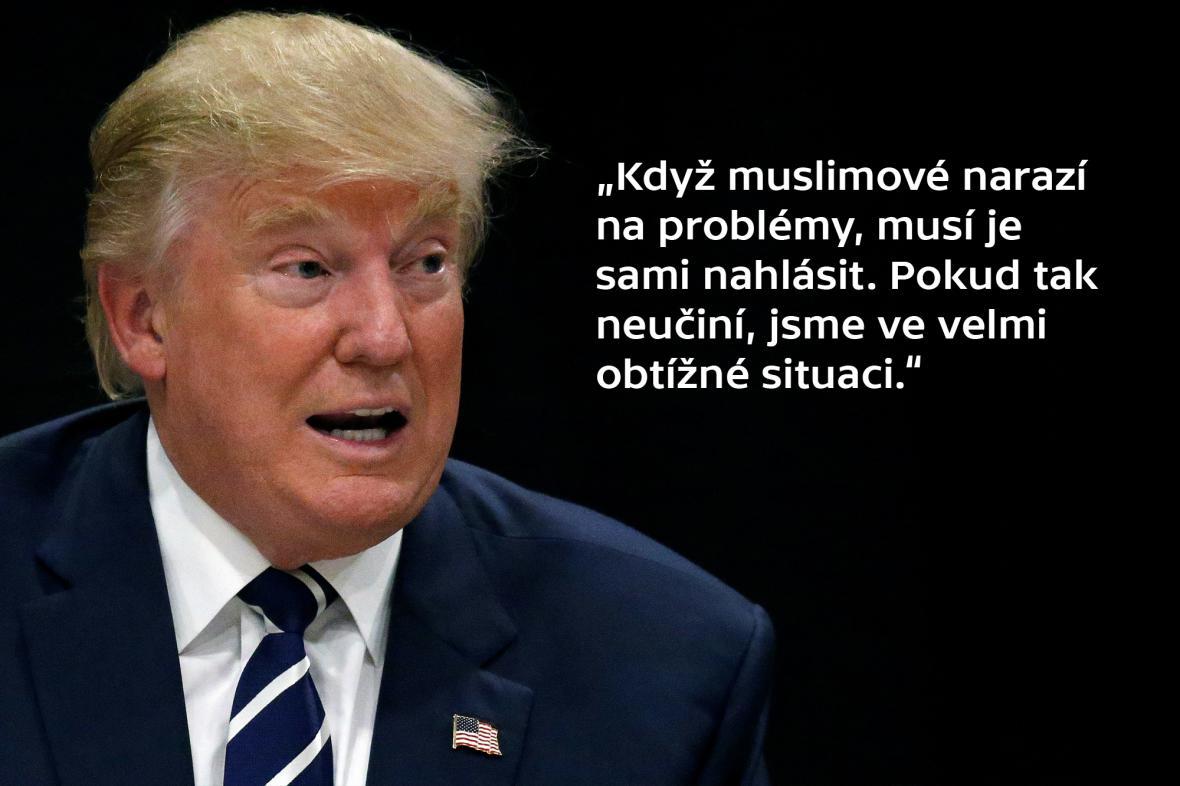 Synchron – Donald Trumpa