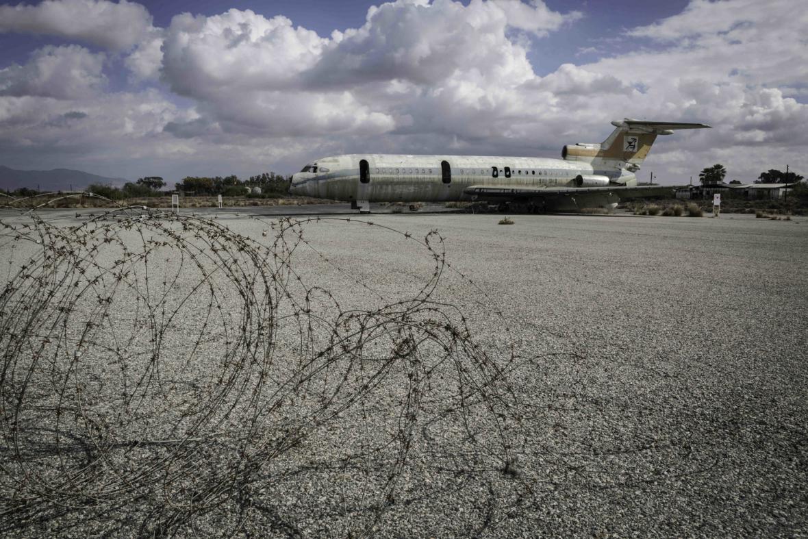 Opuštěné mezinárodní letiště v kyperské metropoli