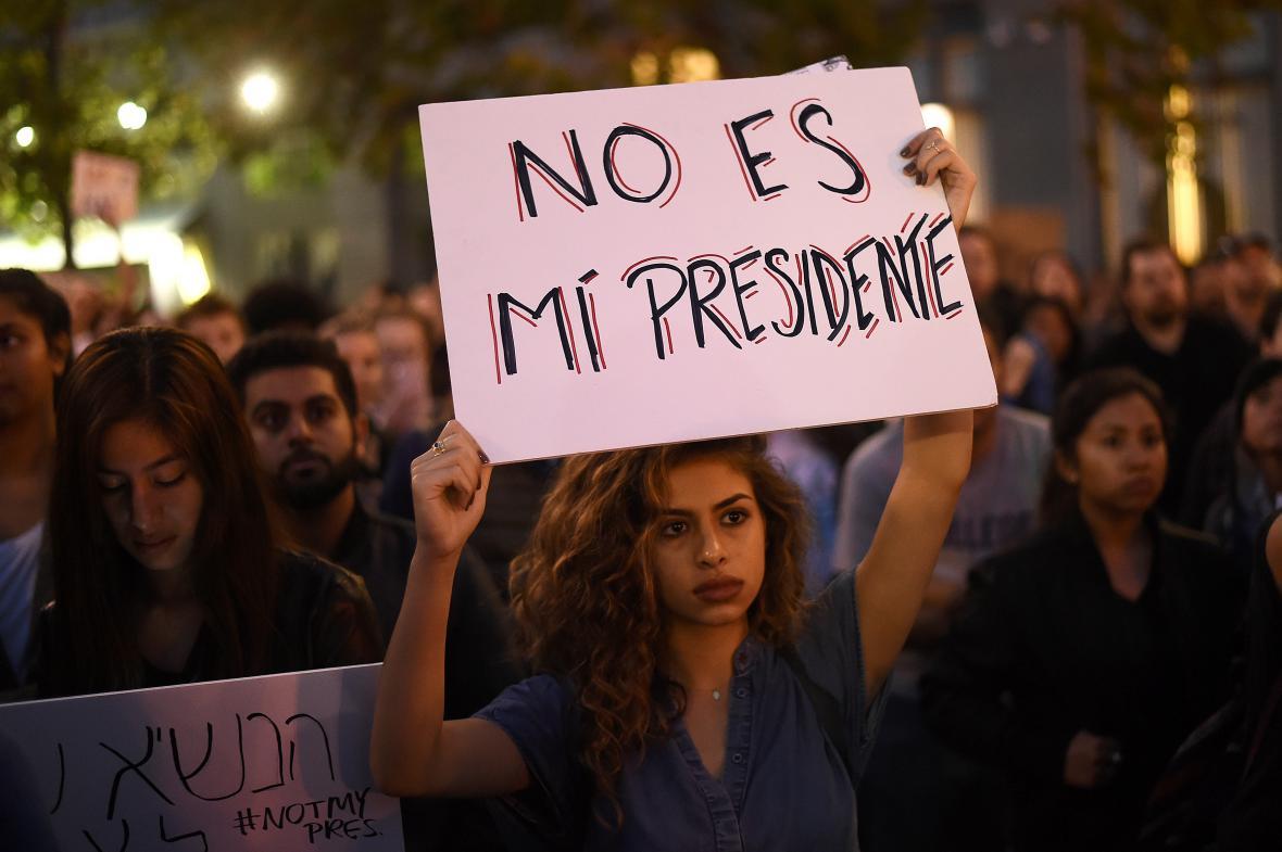 Trump se nezamlouvá řadě zástupců menšin