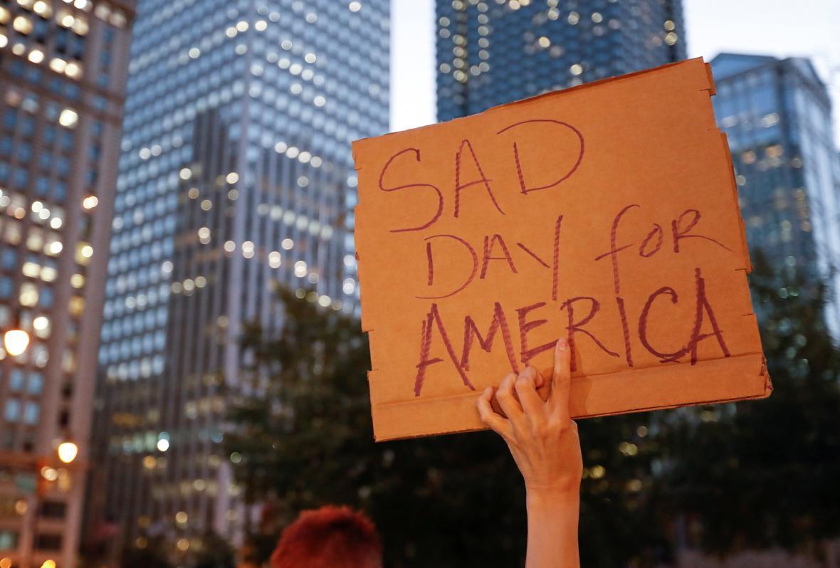 Protest v Chicagu