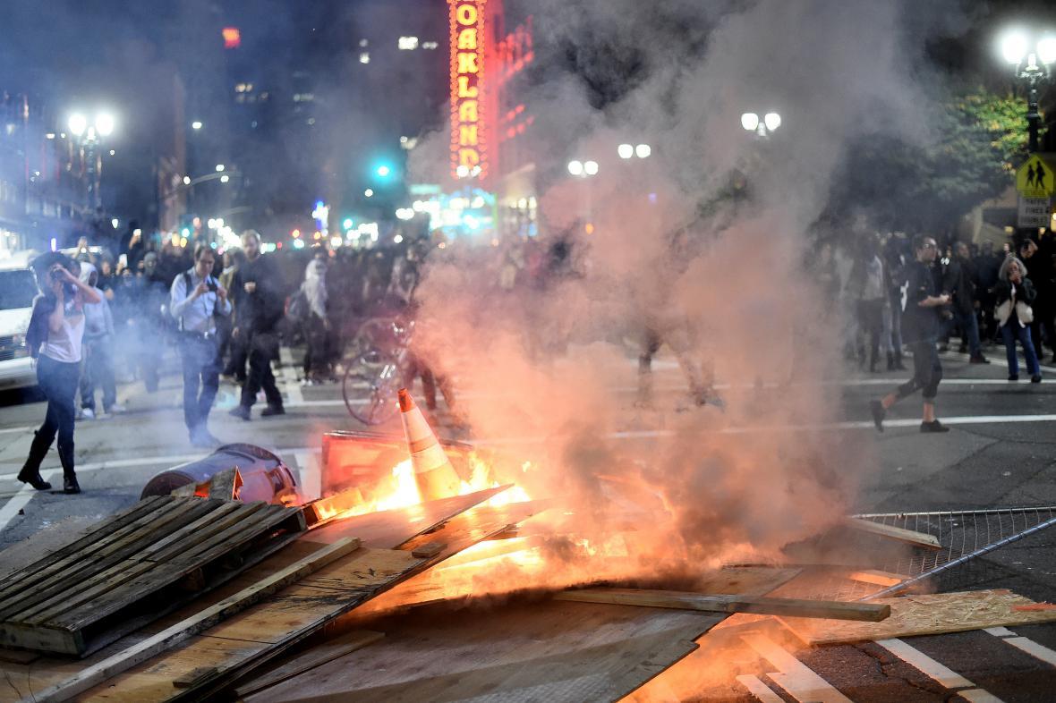 Nepokoje v Oaklandu