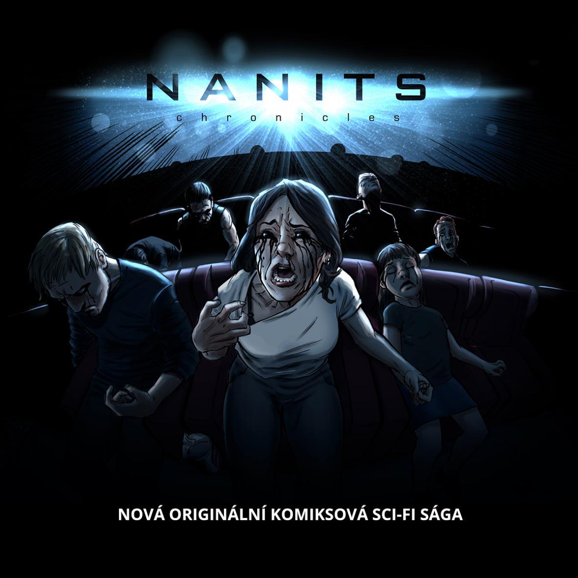 Digitální komiks Nanits Universe