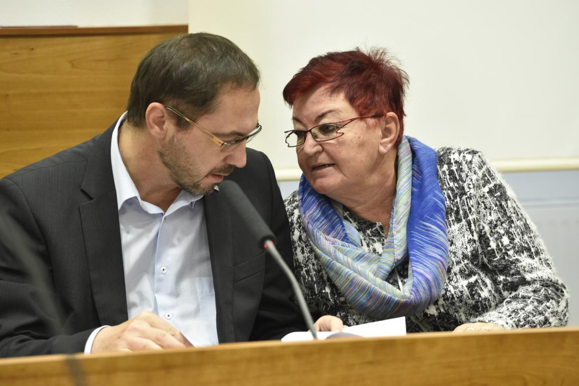 Luboš Pitín a Hana Jeníčková