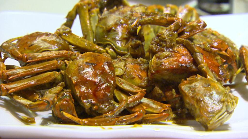 Krabi na talíři