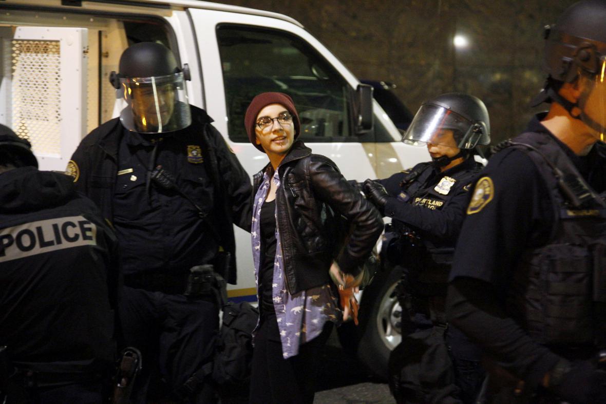 Protest v Oregonu