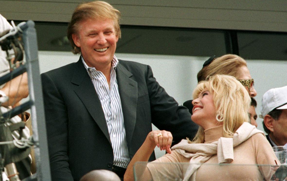 Donald Trump a Ivana Trumpová