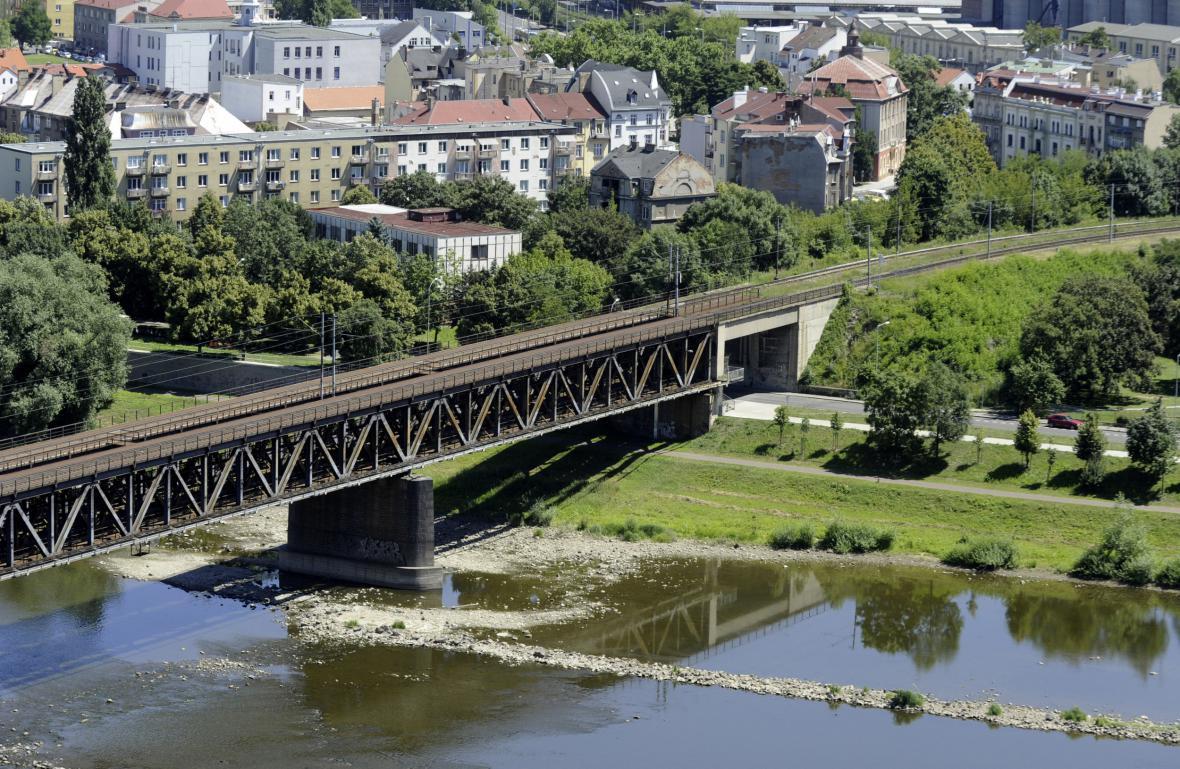 Železniční most v Ústí nad Labem