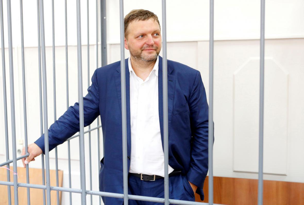 Gubernátor Kirovské oblasti Nikita Belych