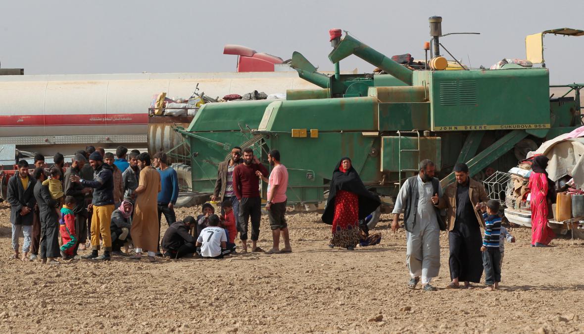 Uprchlíci z Mosulu