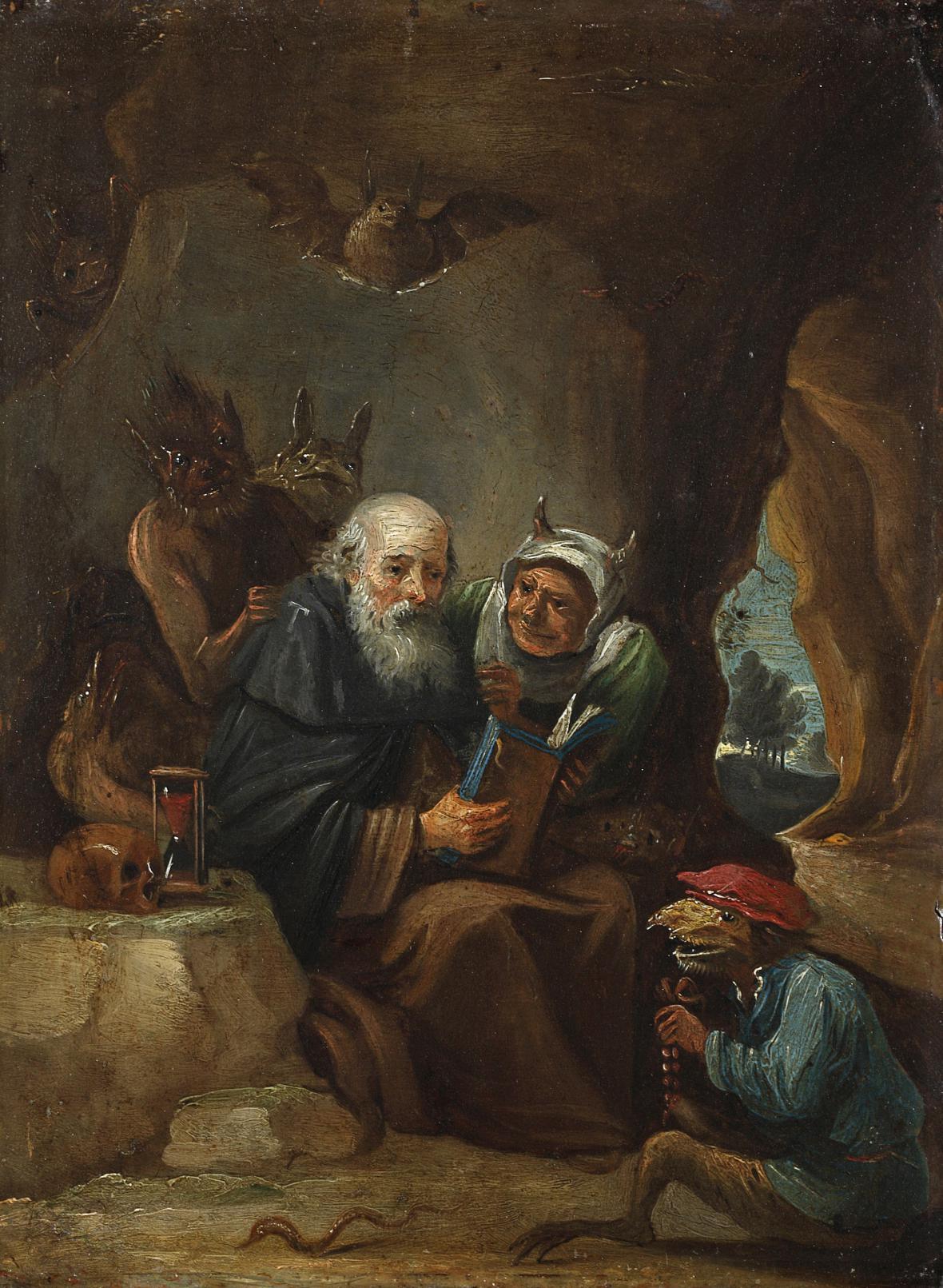 David Teniers / Pokušení sv. Antonína, kolem r. 1640
