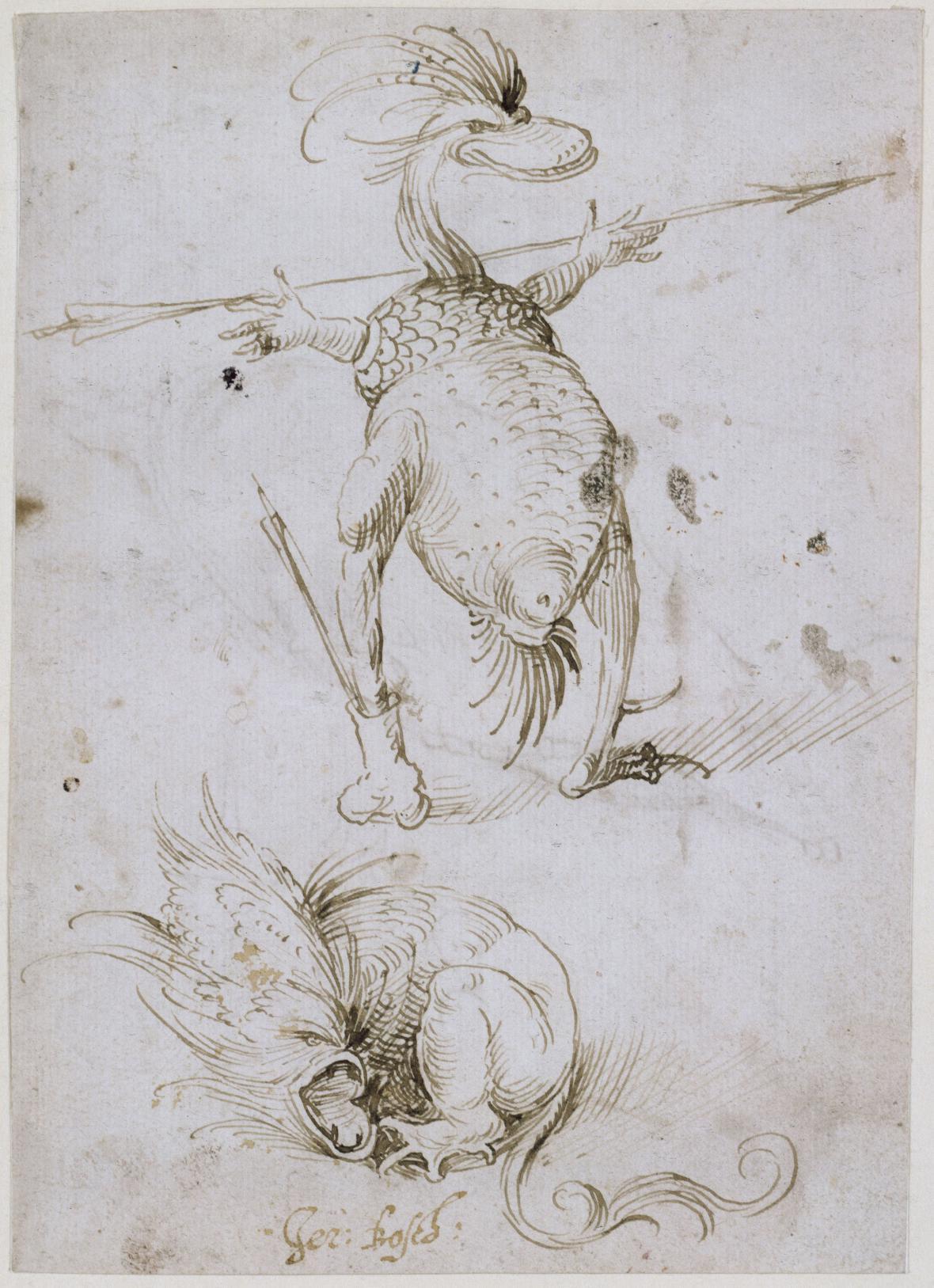 Hieronymus Bosch / Pole má oči, les má uši, kolem r. 1500-1505