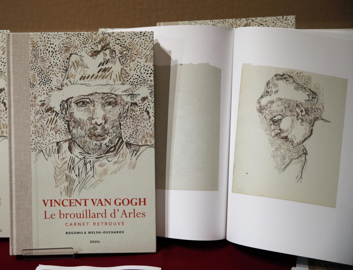 Kniha údajně nepravých skic od Vincenta van Gogha