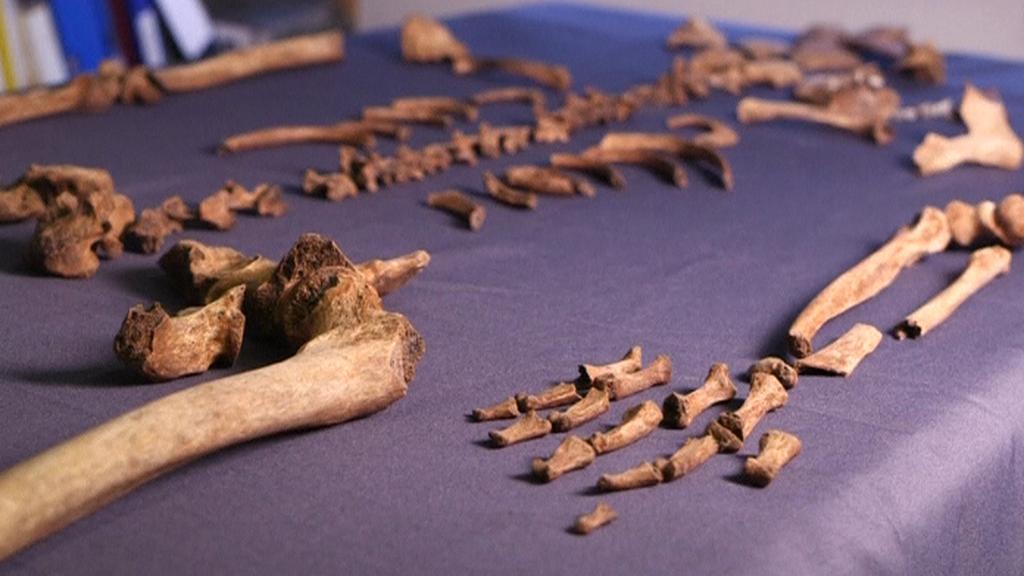 Kosti raných křesťanů v Británii