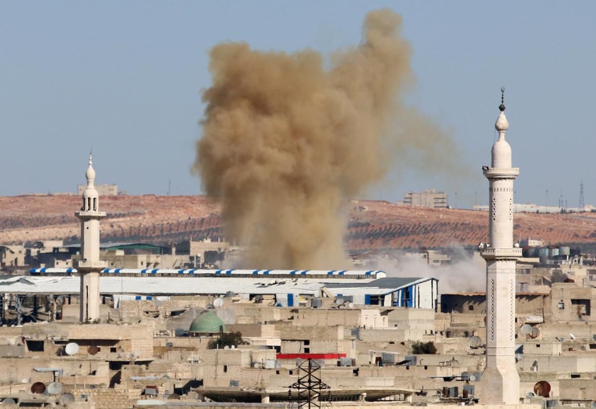 Nálety v Aleppu