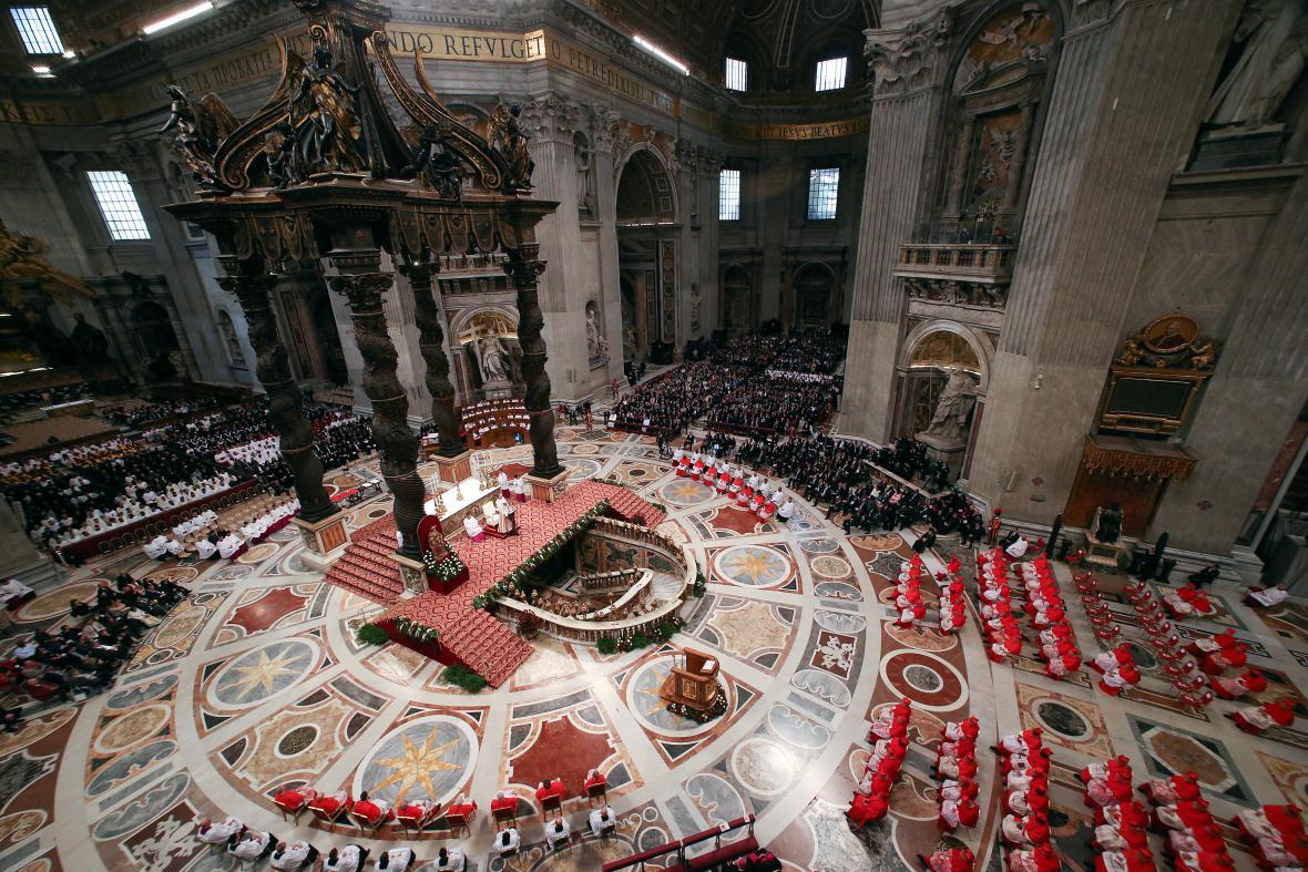 Papež František jmenoval 17 nových kardinálů