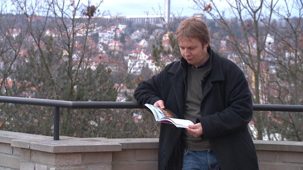 Matěj Černý, autor knihy o málo známých místech Prahy