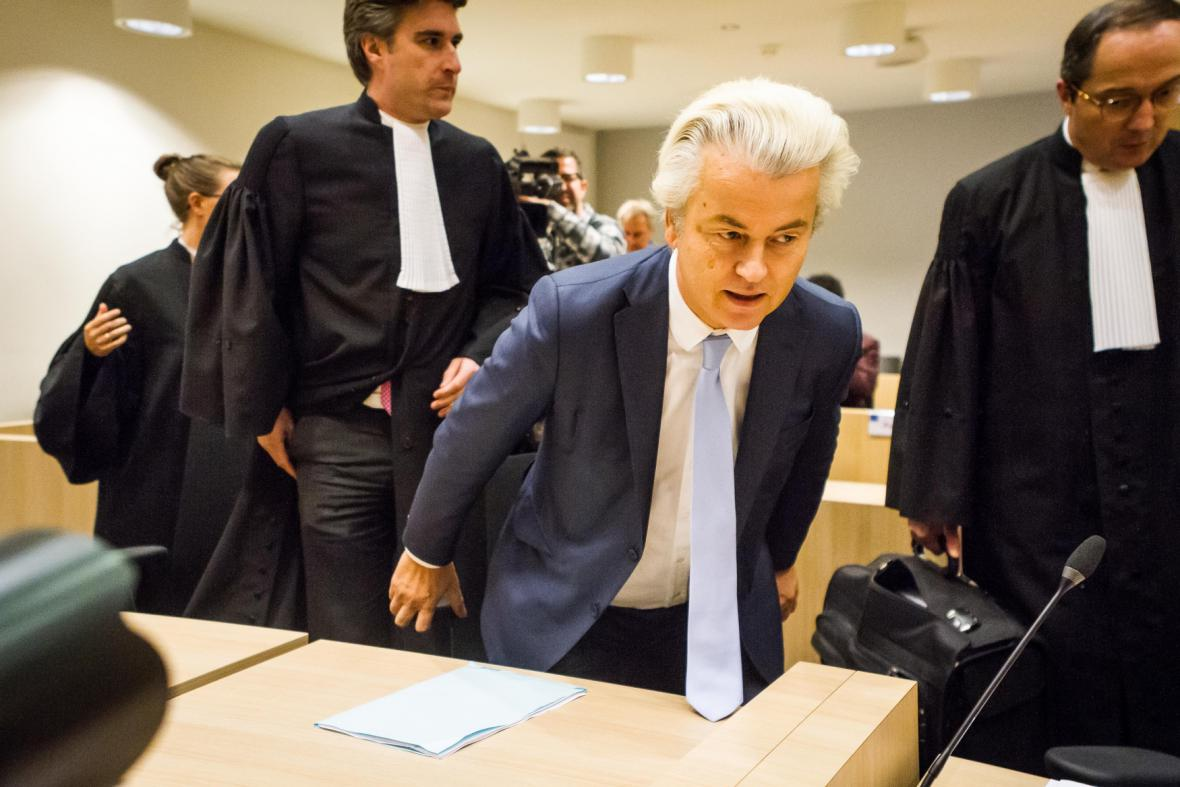Gert Wilders u soudu