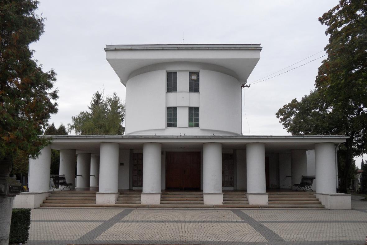 Krematorium v Nymburce od Bedřicha Feuersteina
