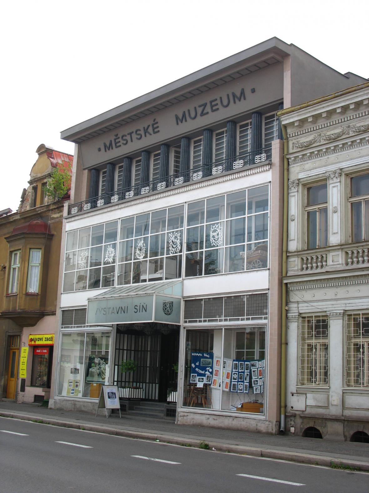 Někdejší Wenkeův obchodní dům v Jaroměři