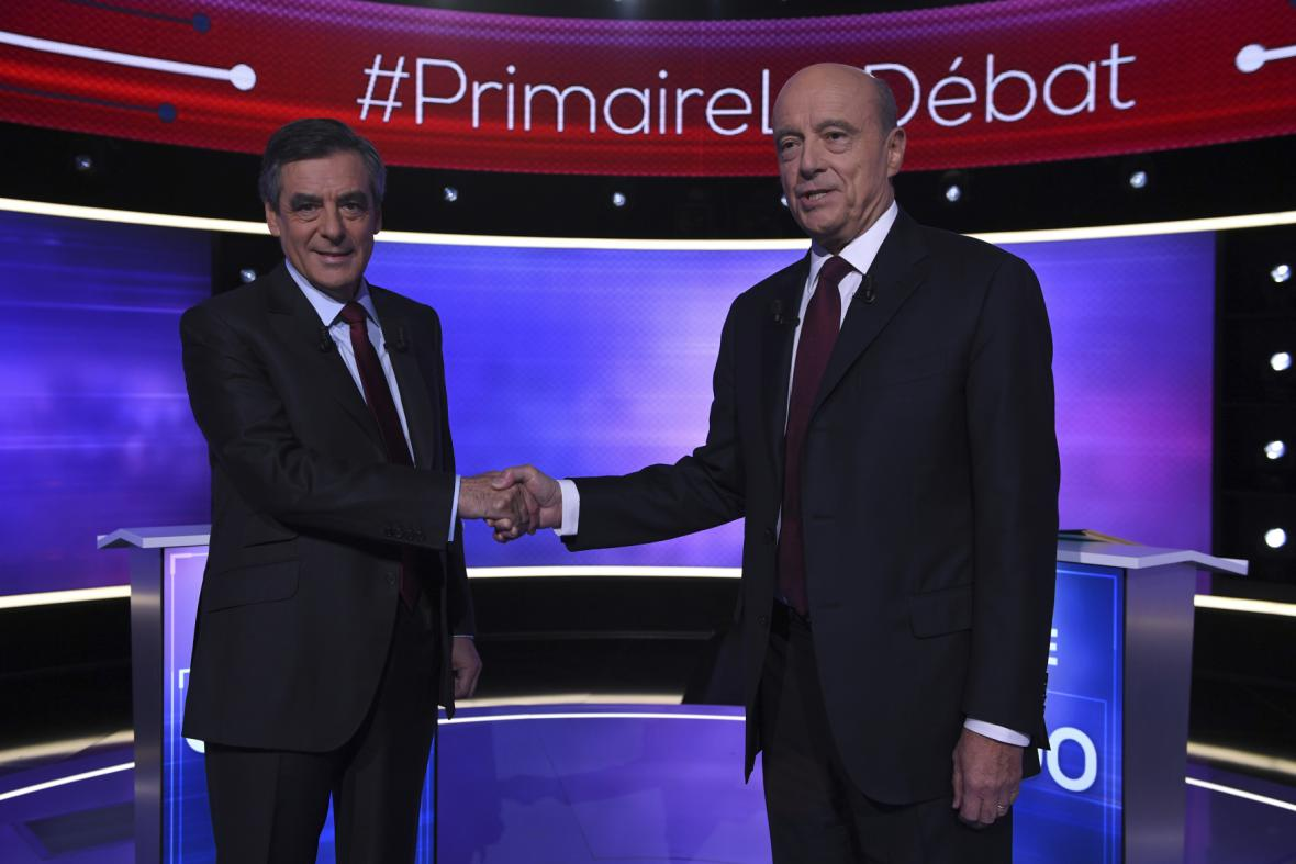 Francois Fillon a Alain Juppé