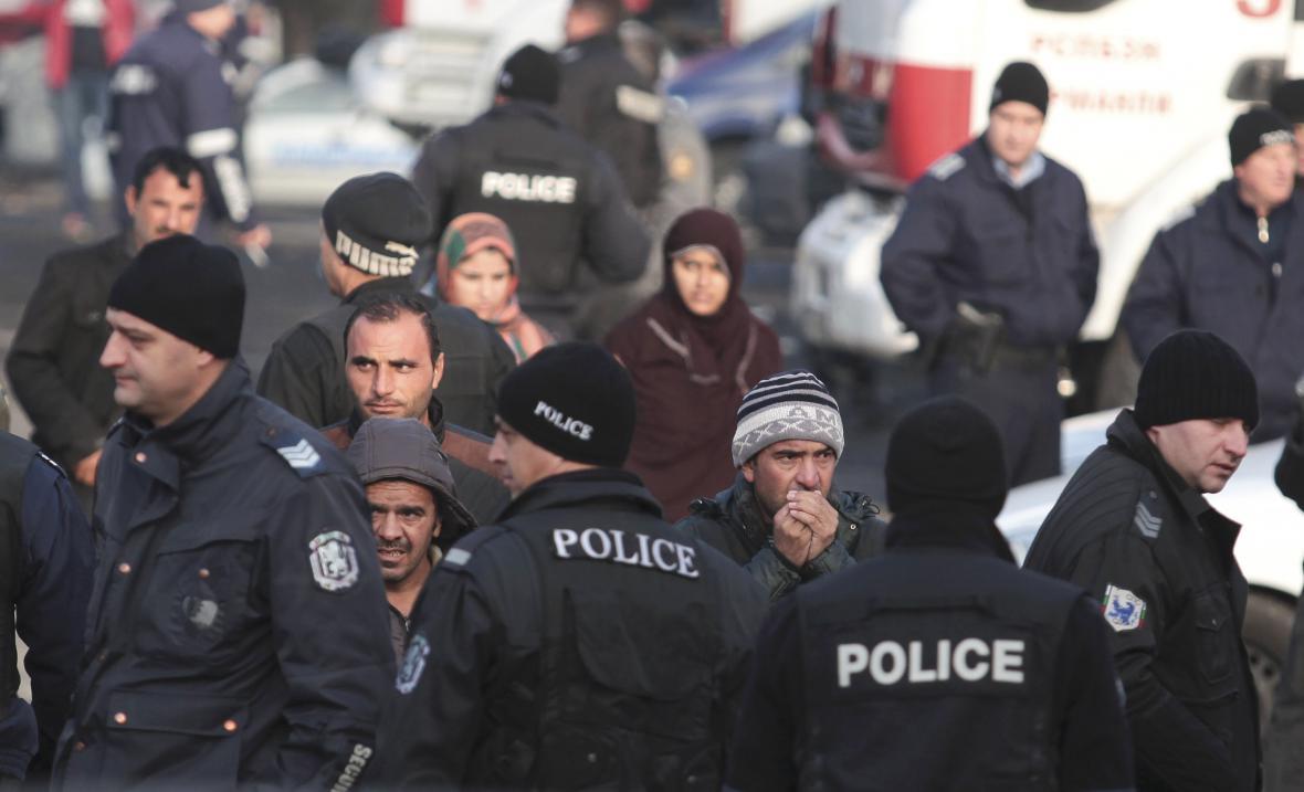 Rebelie v bulharském uprchlickém táboře