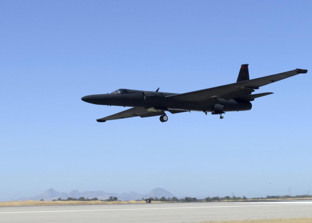 Špionážní letoun U-2 Dragon Lady