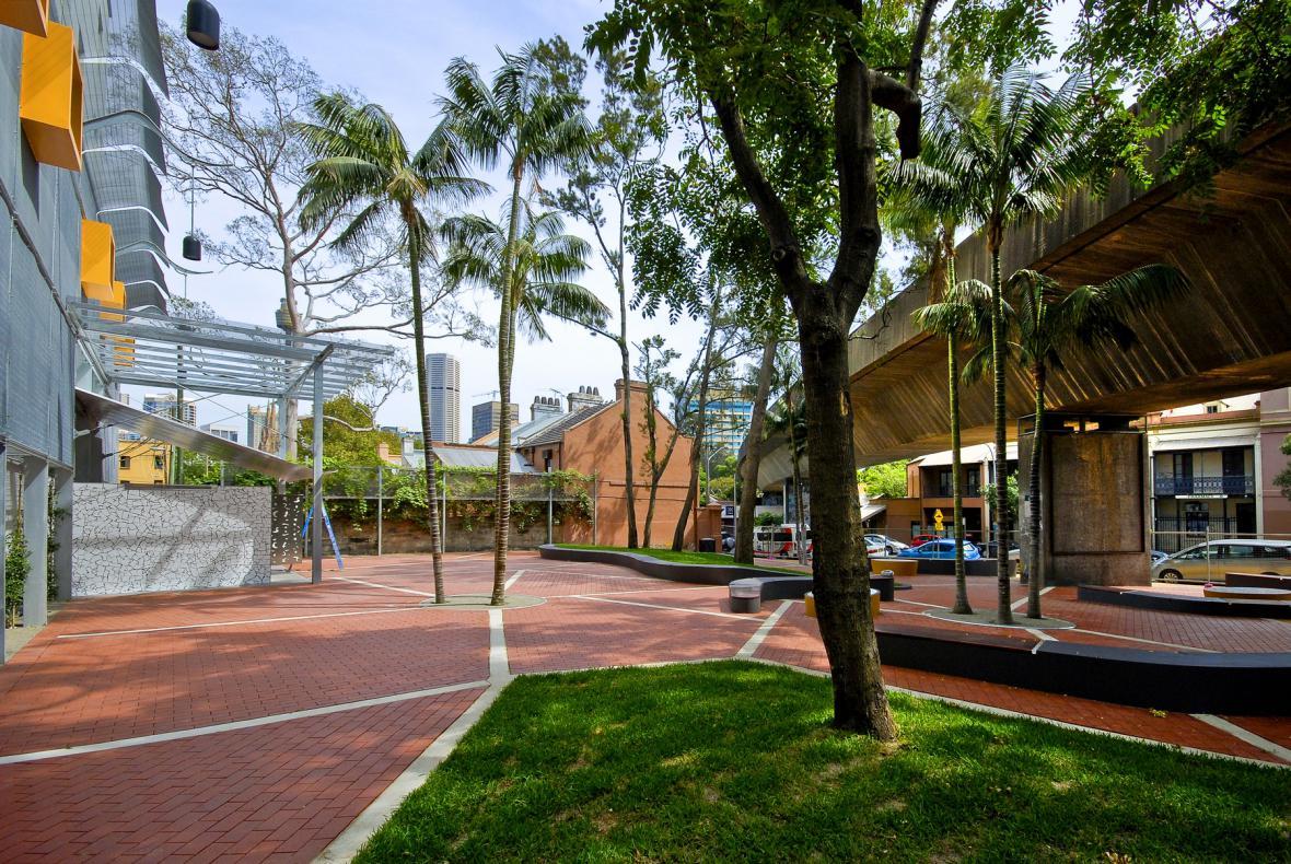 Walla Mulla Park, Sydney, Austrálie, 2008–2011 (architekt: Vladimír Sitta)
