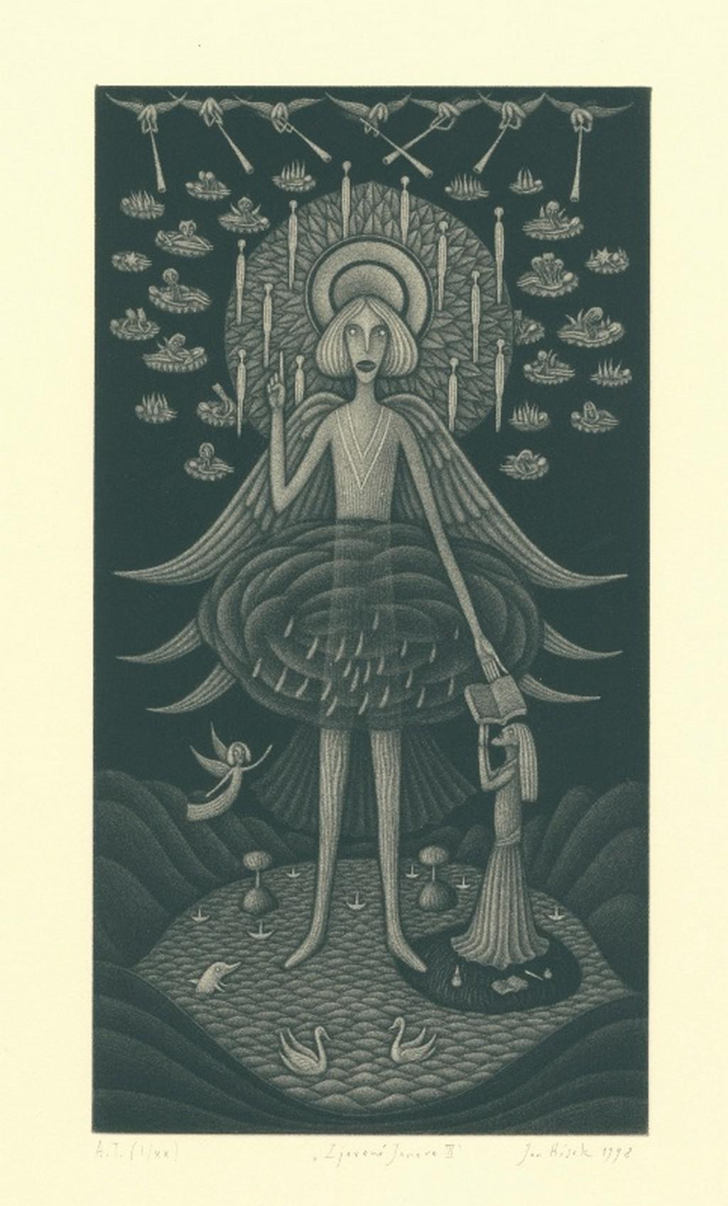 Ilustrace ke Zjevení Janově