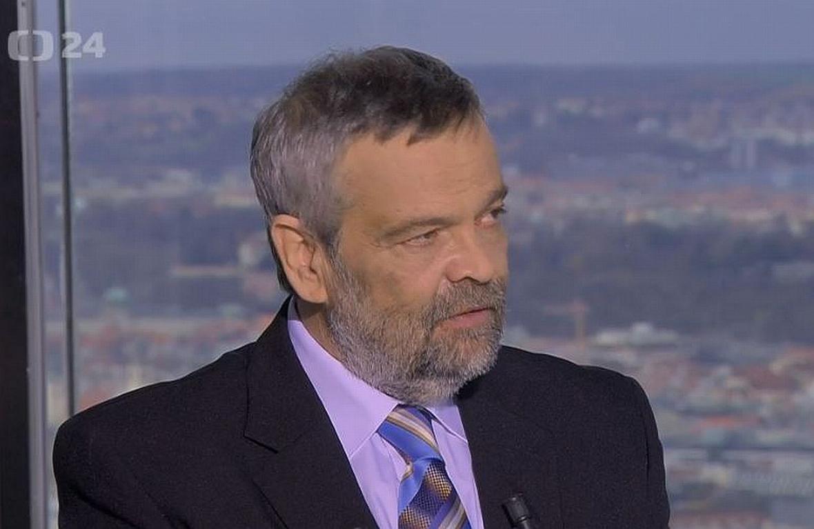 Geolog Geofyzikálního ústavu Akademie věd Vladimír Cajz