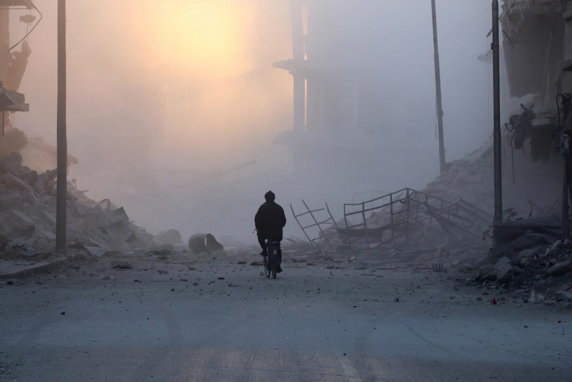 Předměstí al-Šár v Aleppu