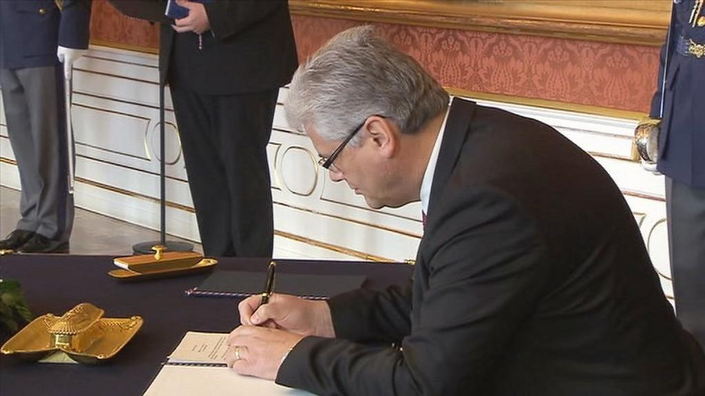Prezident jmenoval Miloslava Ludvíka ministrem zdravotnictví
