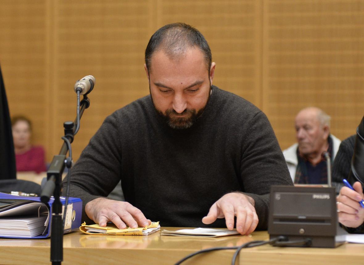 Obžalovaný Martin Hrdlička