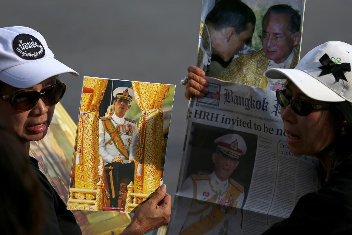 Thajsko má nového krále