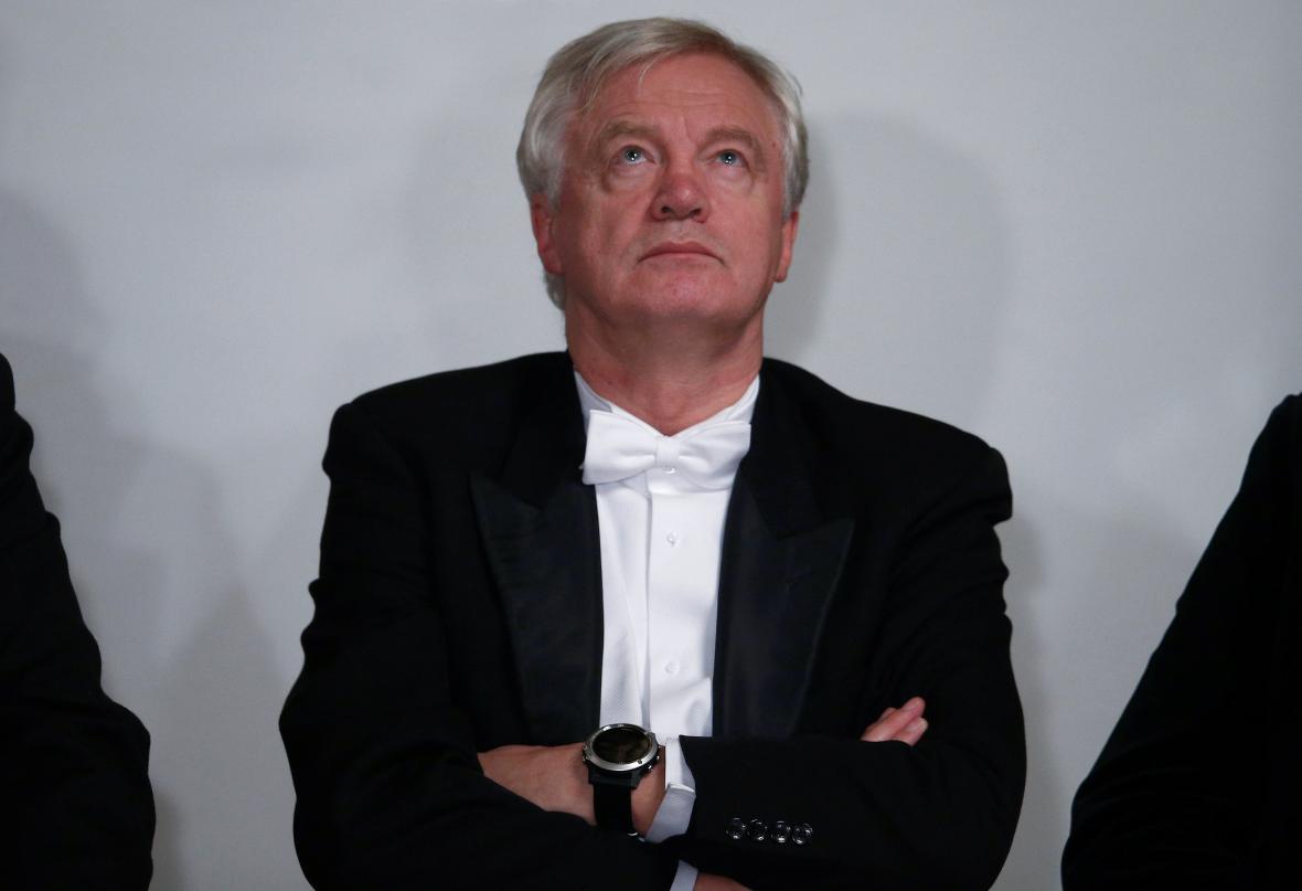 Ministr pro brexit David Davis