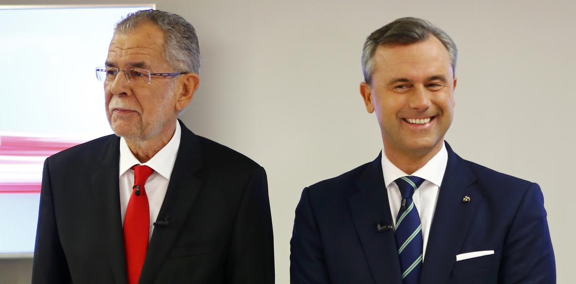 Alexander Van der Bellen a Norbert Hofer