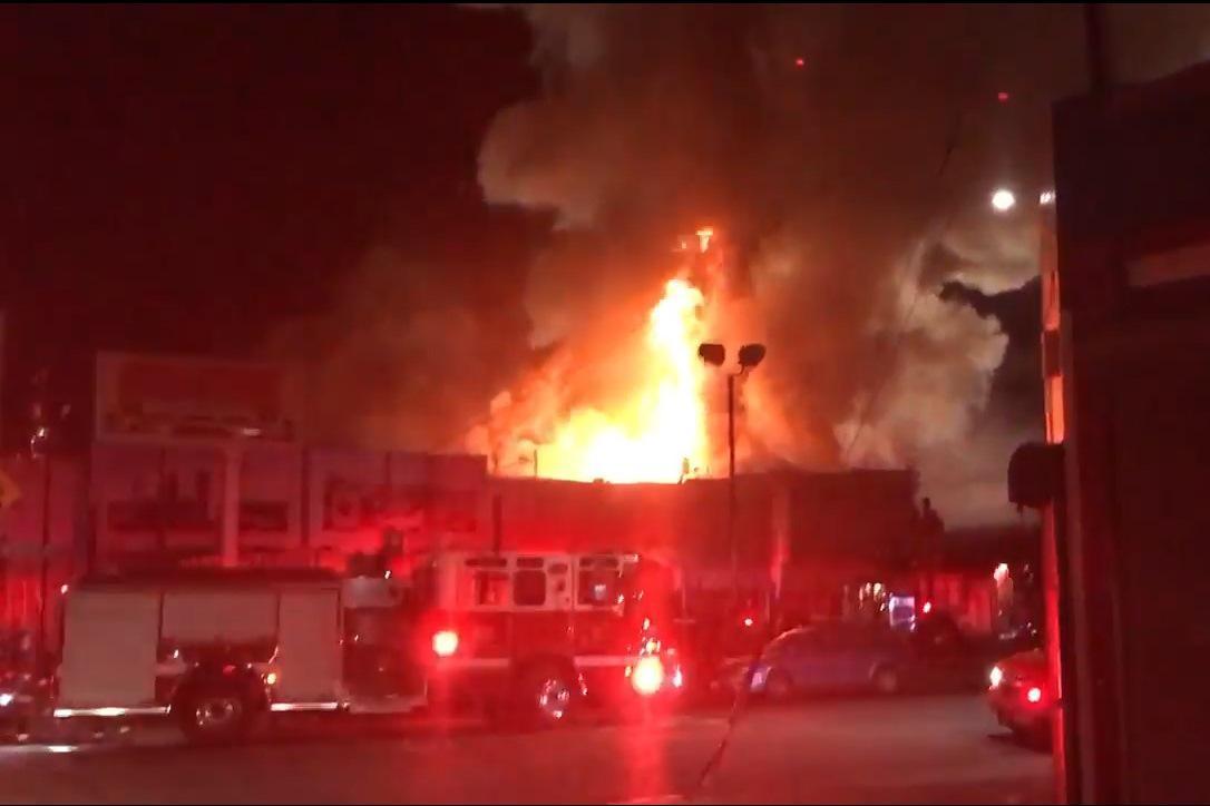 Požár na taneční party v Oaklandu