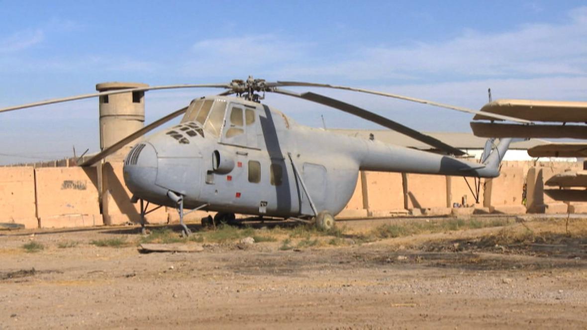 Vrtulník Sadáma Husajna