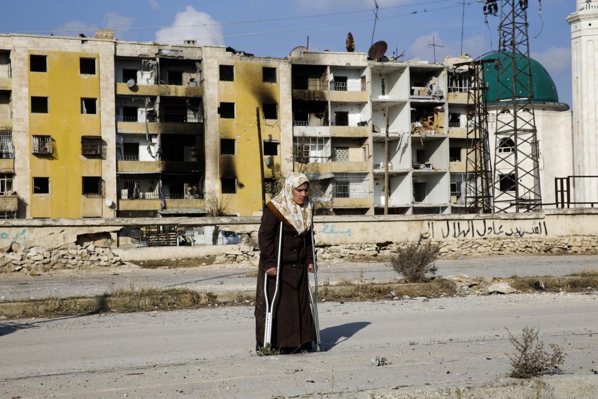 Důsledky dlouhotrvajících bojů v syrském Aleppu