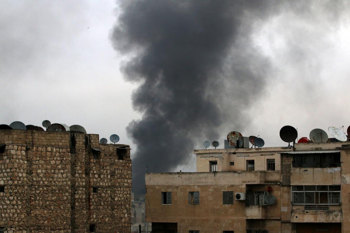 Boje o východní Aleppo